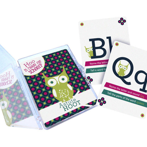 Hoo is Ready for School? flash cards