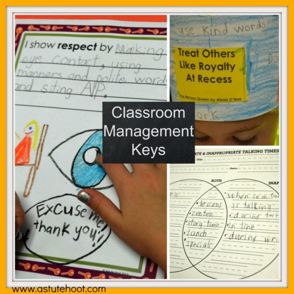 Golden Keys to Success, classroom management plans, behavior modification