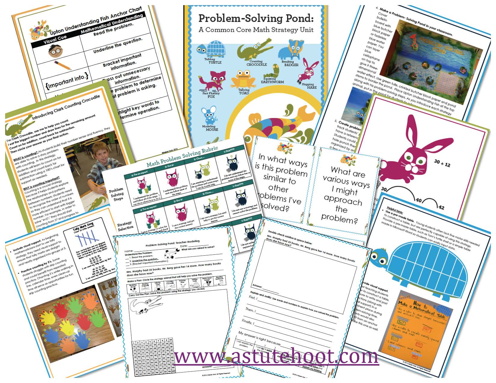 Problem solving bundle preview