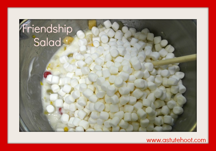 friendship salad