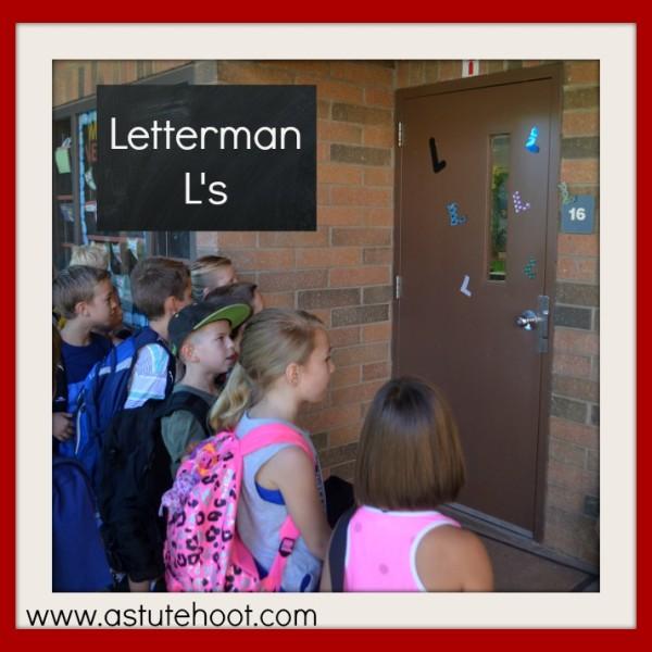 Students love Letterman, our Friendly Letter Superhero.