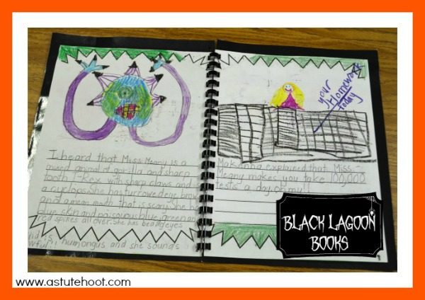 black lagoon published book Halloween Blog Hop