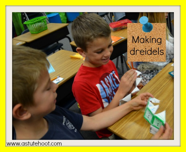 Making dreidels