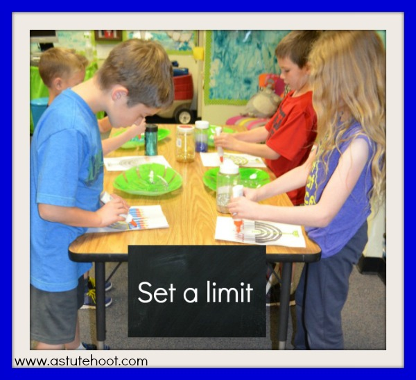 Set a limit