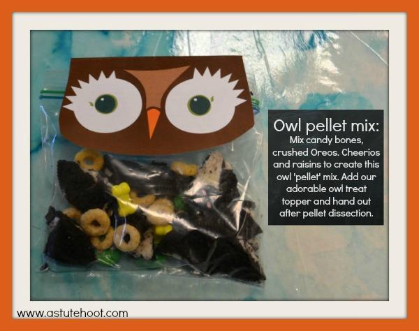 Owl pellet mix