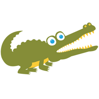 Clark the Counting Crocodile_350x350