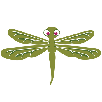 Daphne the Drawing Dragonfly_350x350