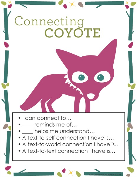 Chloe Connecting Coyote Anchor Chart