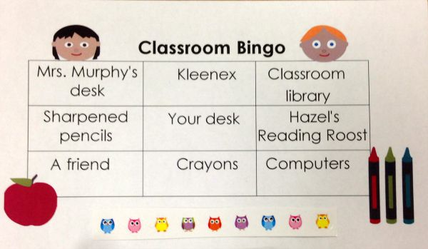 Classroom Bingo