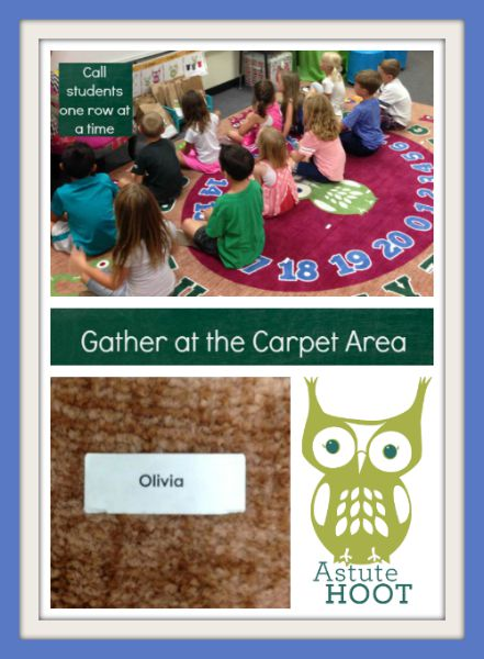 Gather at the carpet area collage