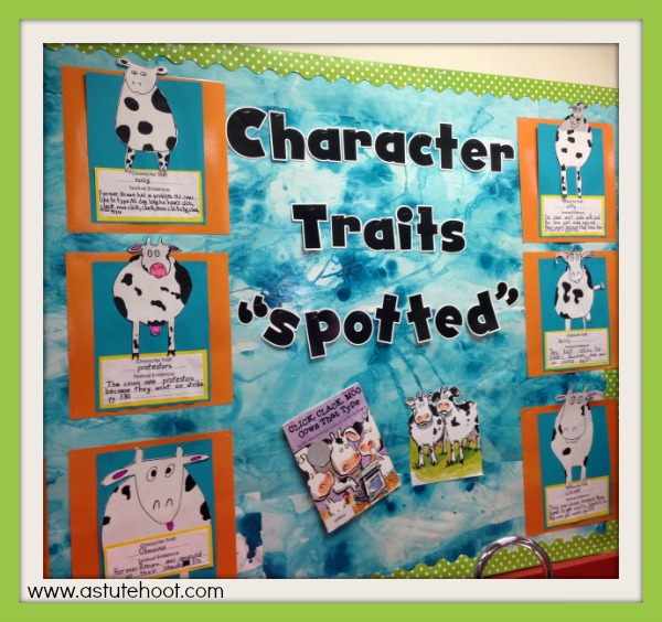 Character traits spotted
