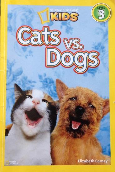 Cats vs dogs books