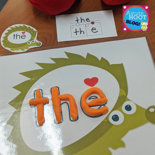 Heidi the High Frequency Word Hedgehog